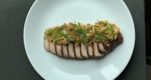 Grilled Pork Loin At Butcher Vine Athens Credit Chef Kory Depaola